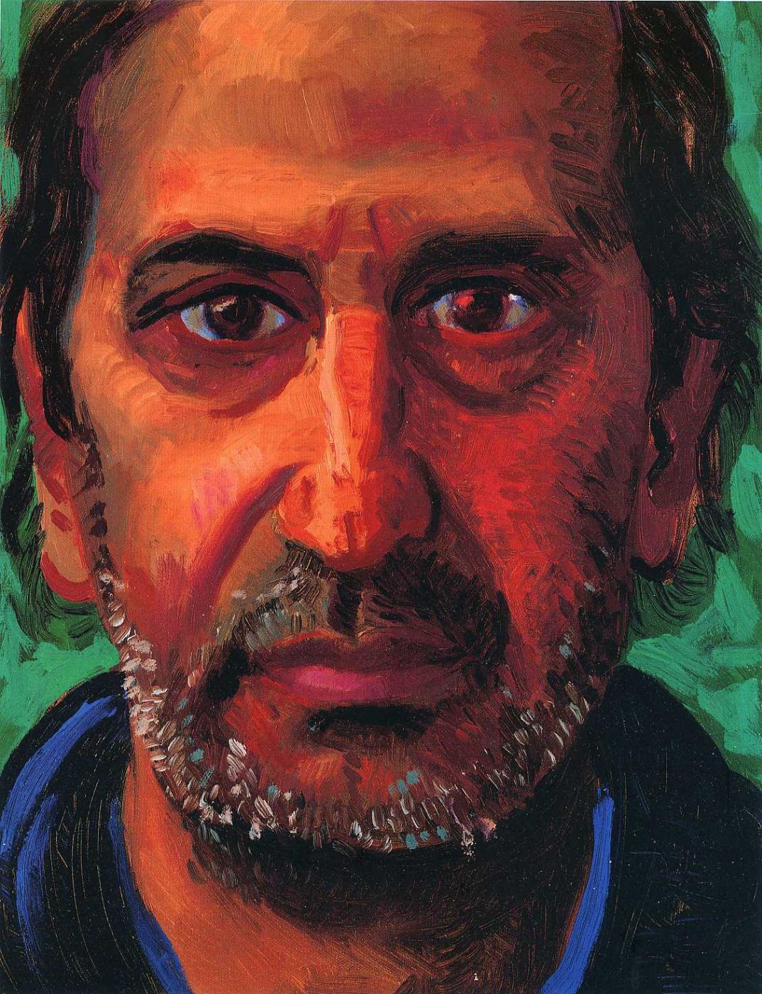 David Hockney. Jonathan Silver