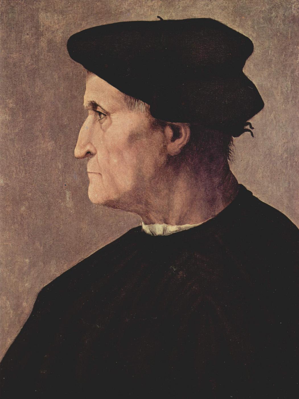 Jacopo Pontormo. Portrait of a man