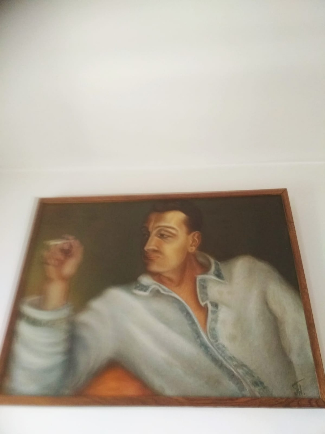 Ada Izrailevna Poberezhskaya. Portrait of Samuel Katz's husband