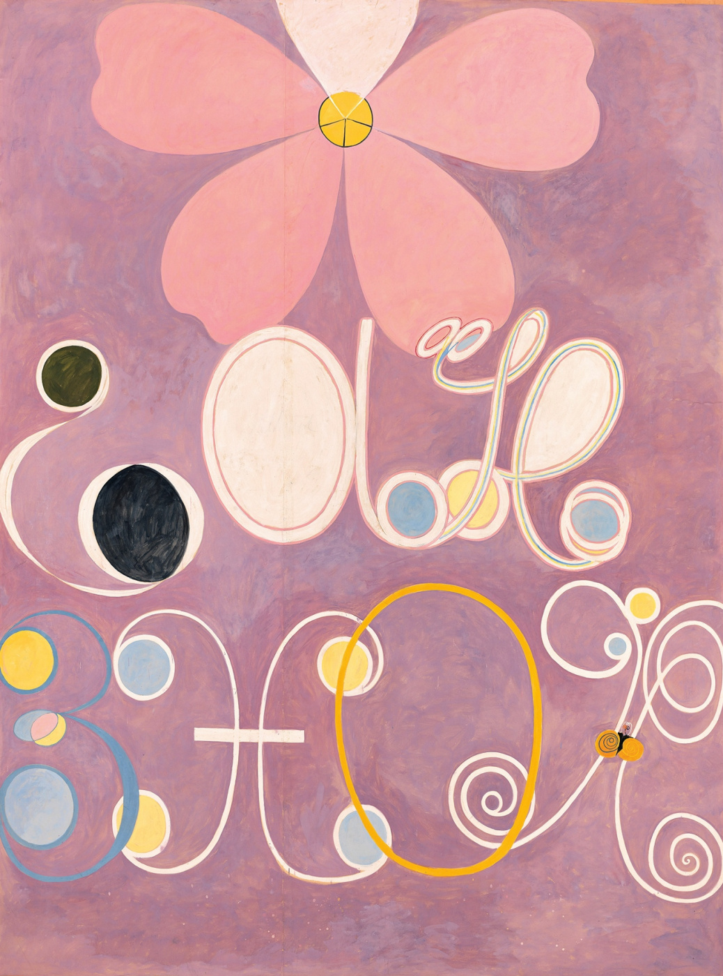 """Hilma af Klint. Series """"Ten Most Important"""". No. 5. Coming of age"""
