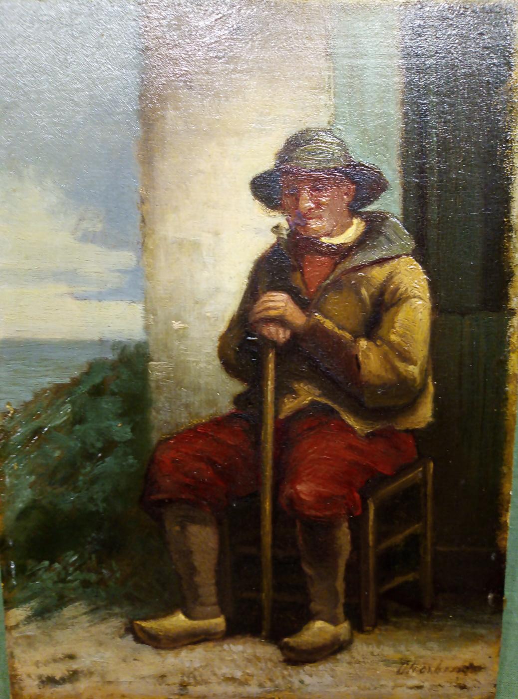 """Jacobus Hermarus Otterbeek (1839-1902). """"Old man"""""""