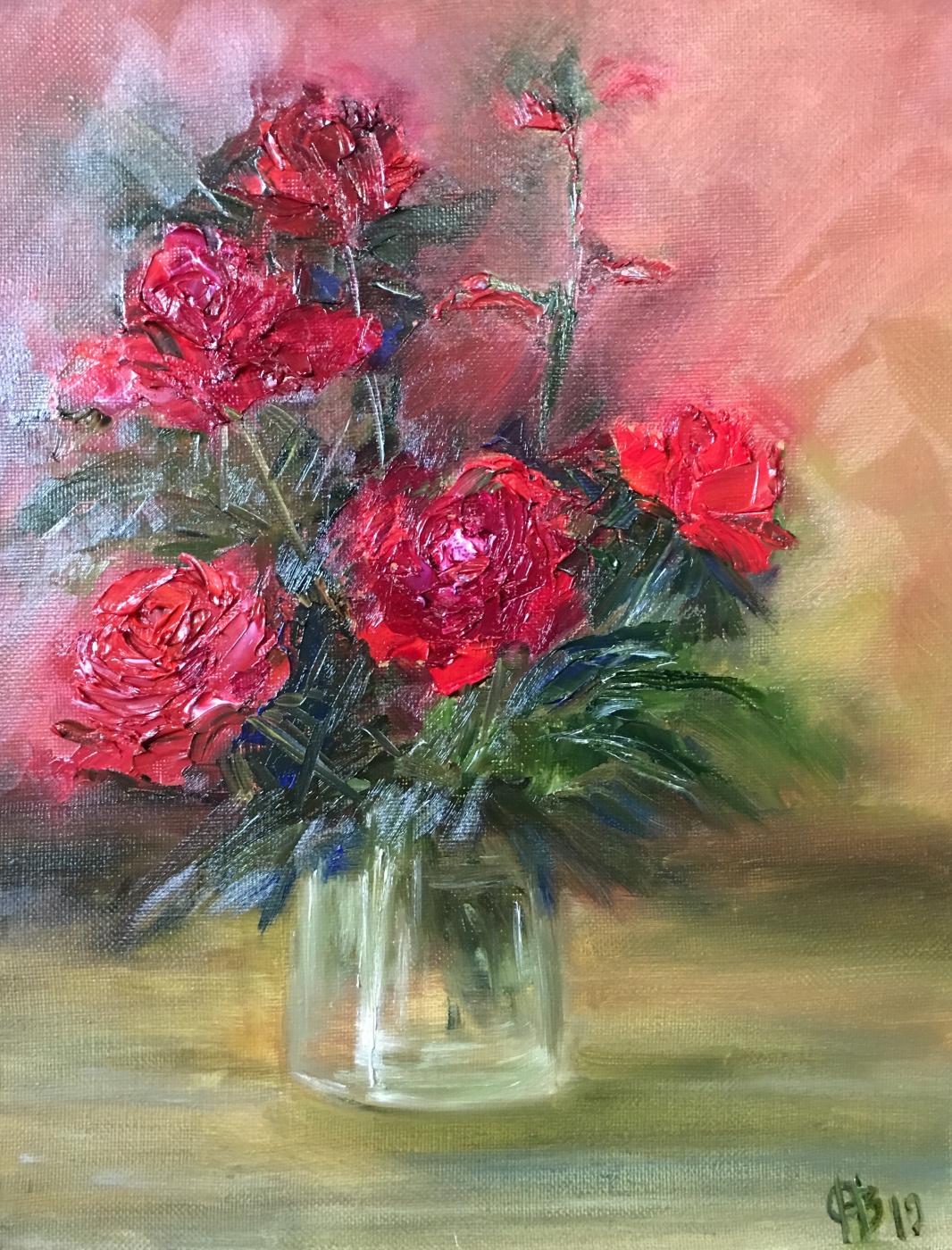 """Natalia Vadimovna Obdalenkova. """"Roses of july"""""""