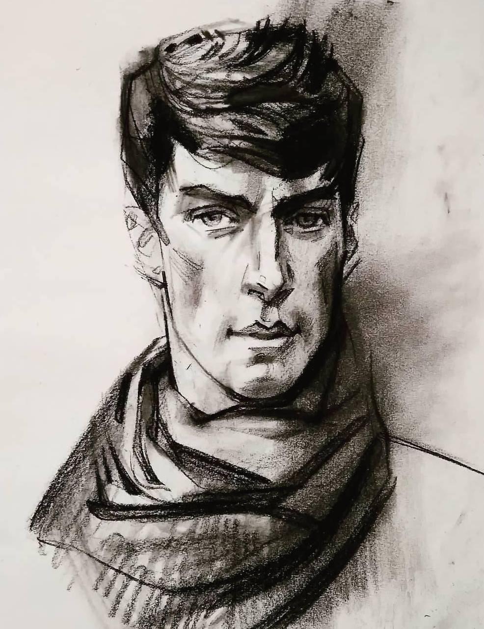 Виталий Викторович Котенджи. Portrait of a man