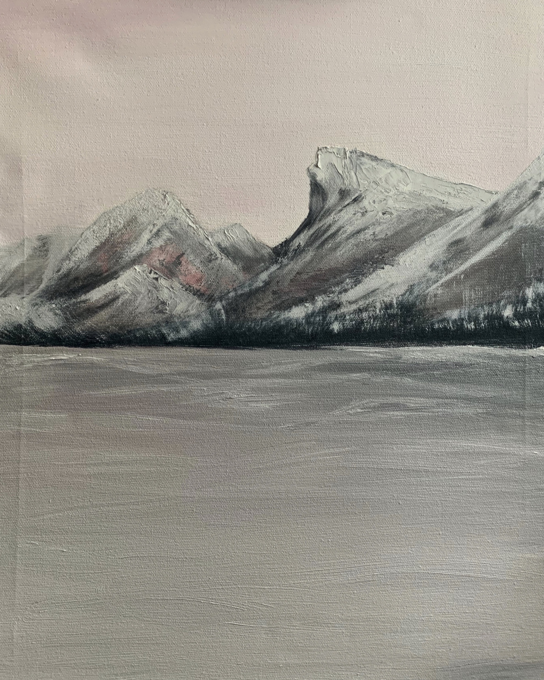 Victoria Shamey. Sea and mountains