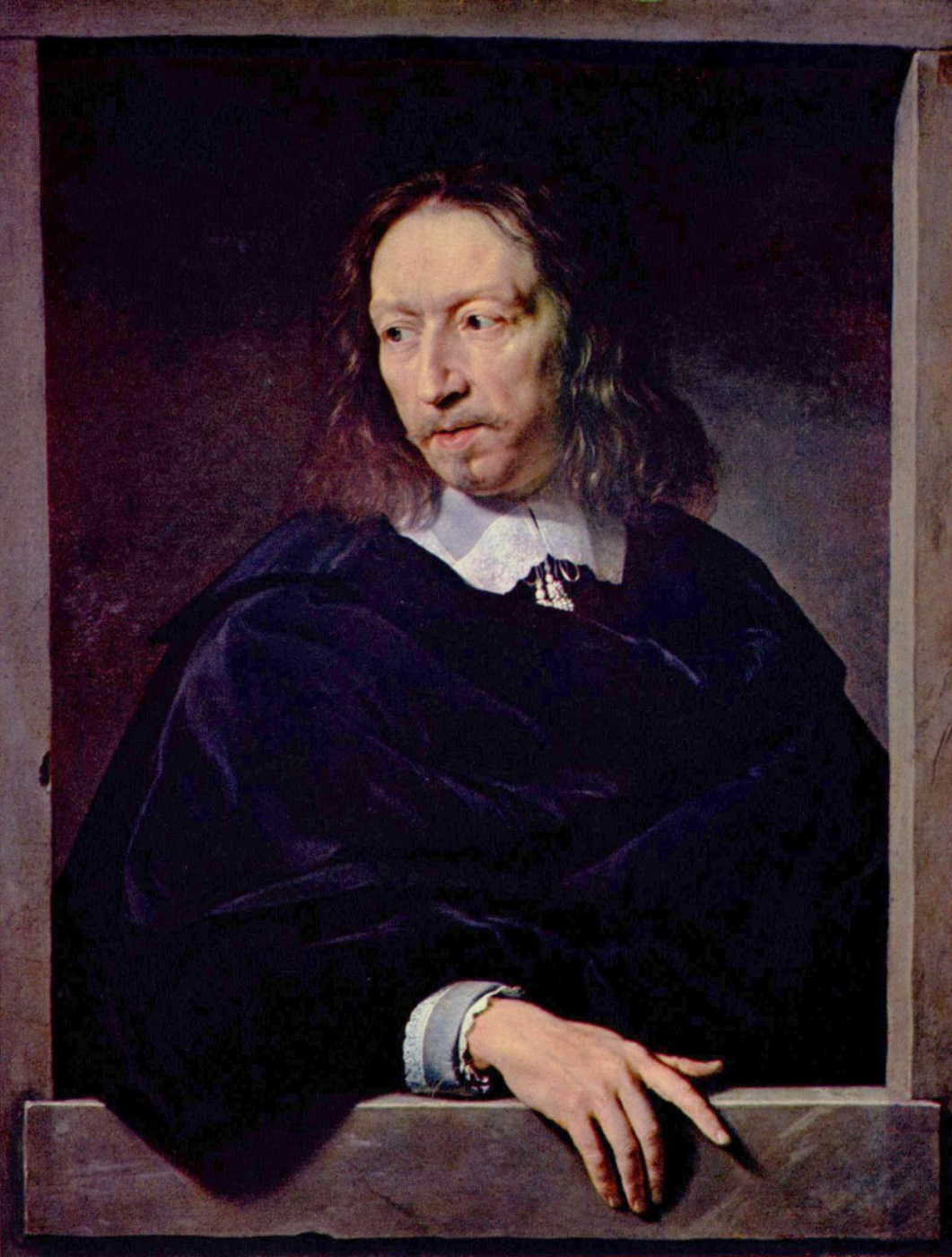 Philippe de Champigny. Portrait of Arnaud d Andilly