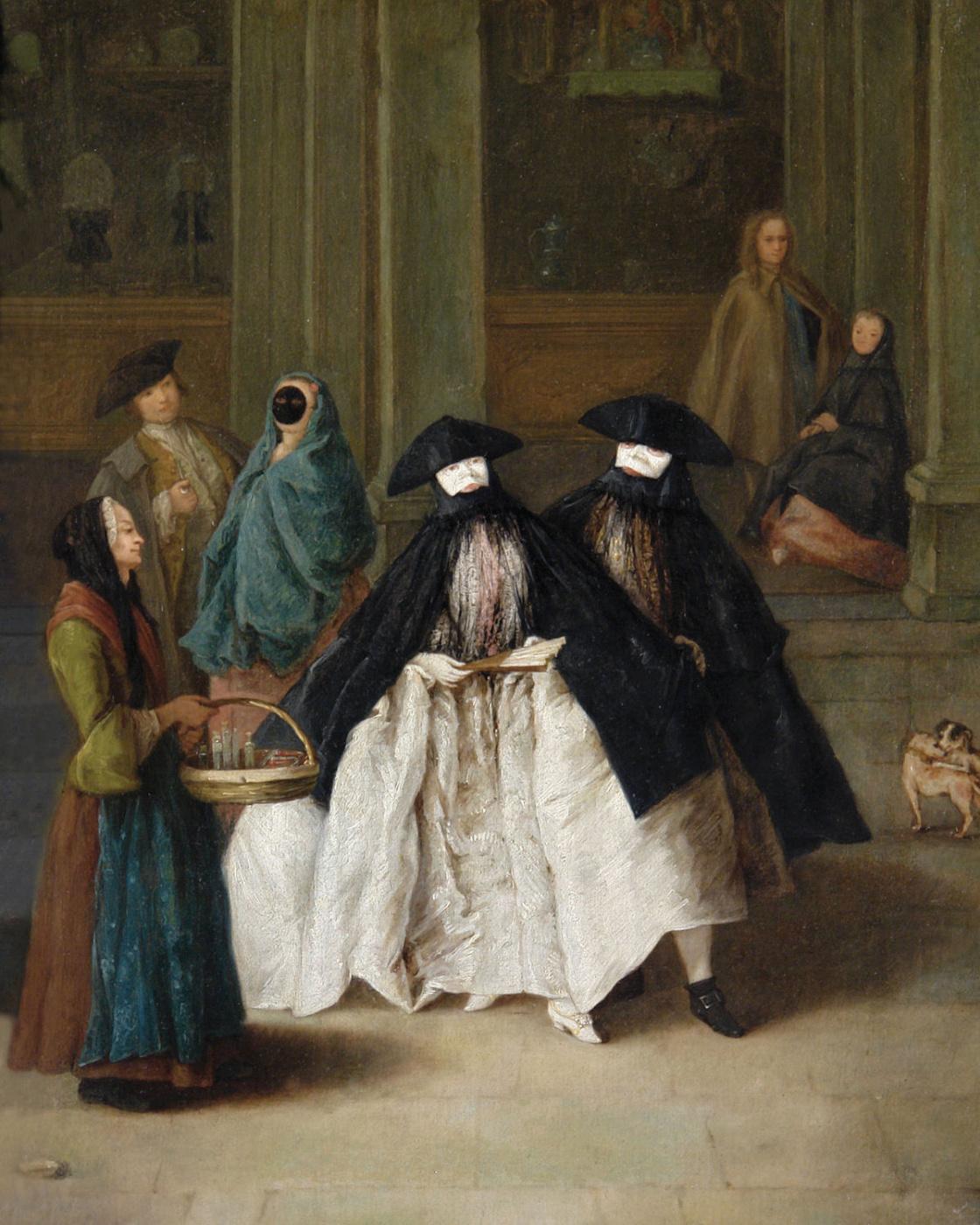Pietro Longi. The saleswoman essences