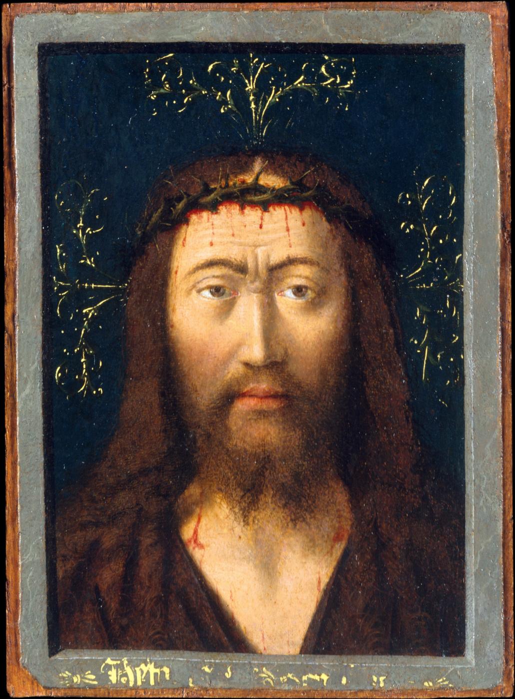 Petrus Christus. Head of Christ