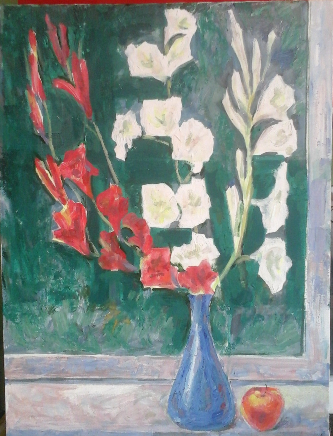 Valery Viktorovich Shechkin. Gladiolus