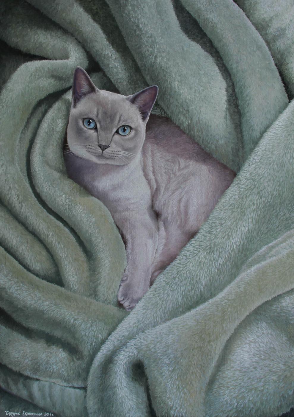 Katerina Bukuros. Кошка