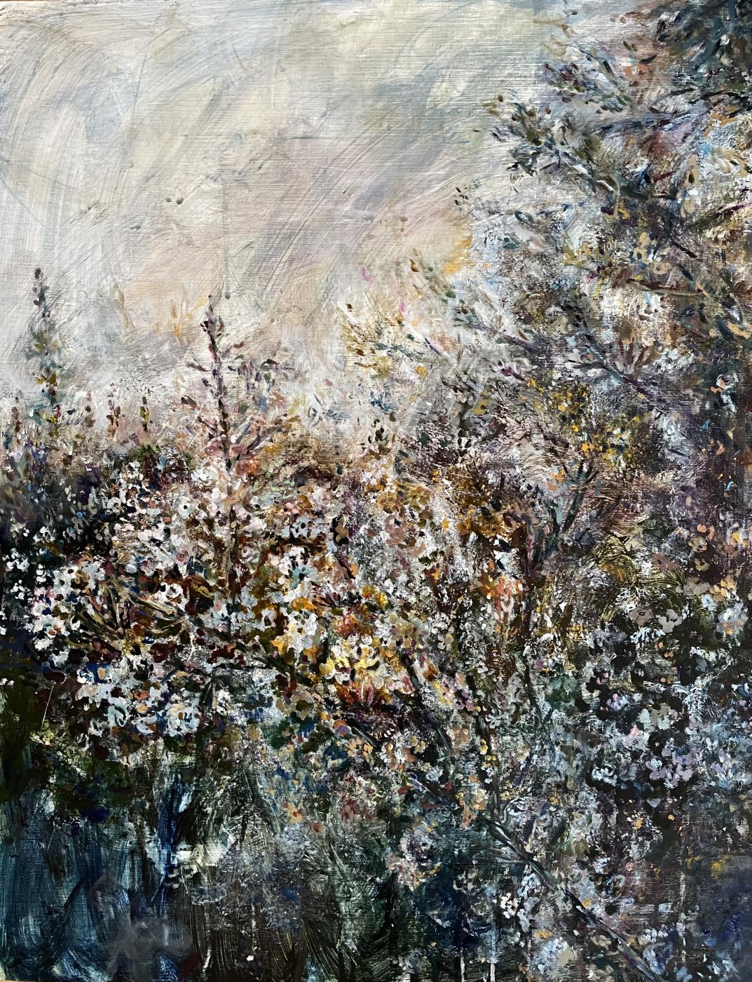 Анна Сергеевна Касс. Blooming tree