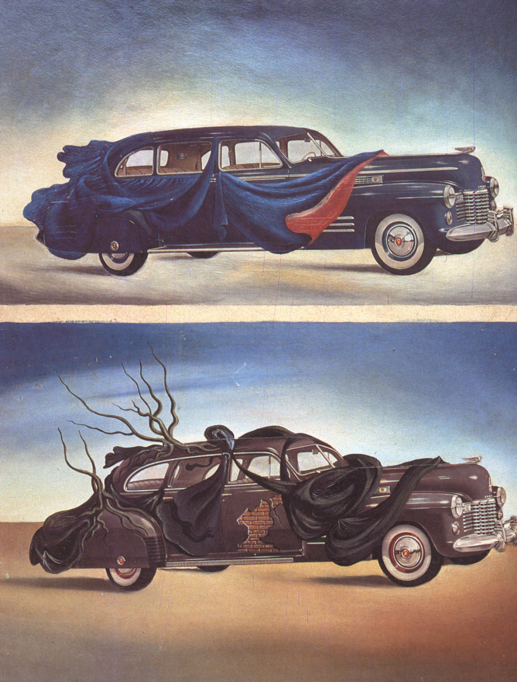 Salvador Dali. Automotive clothing