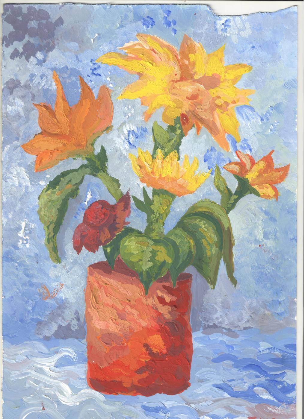 INA l. Sunflowers