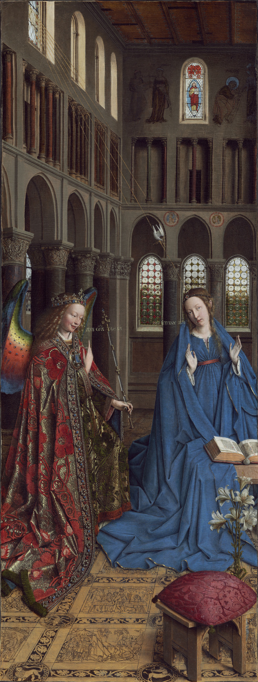 Jan van Eyck. The Annunciation