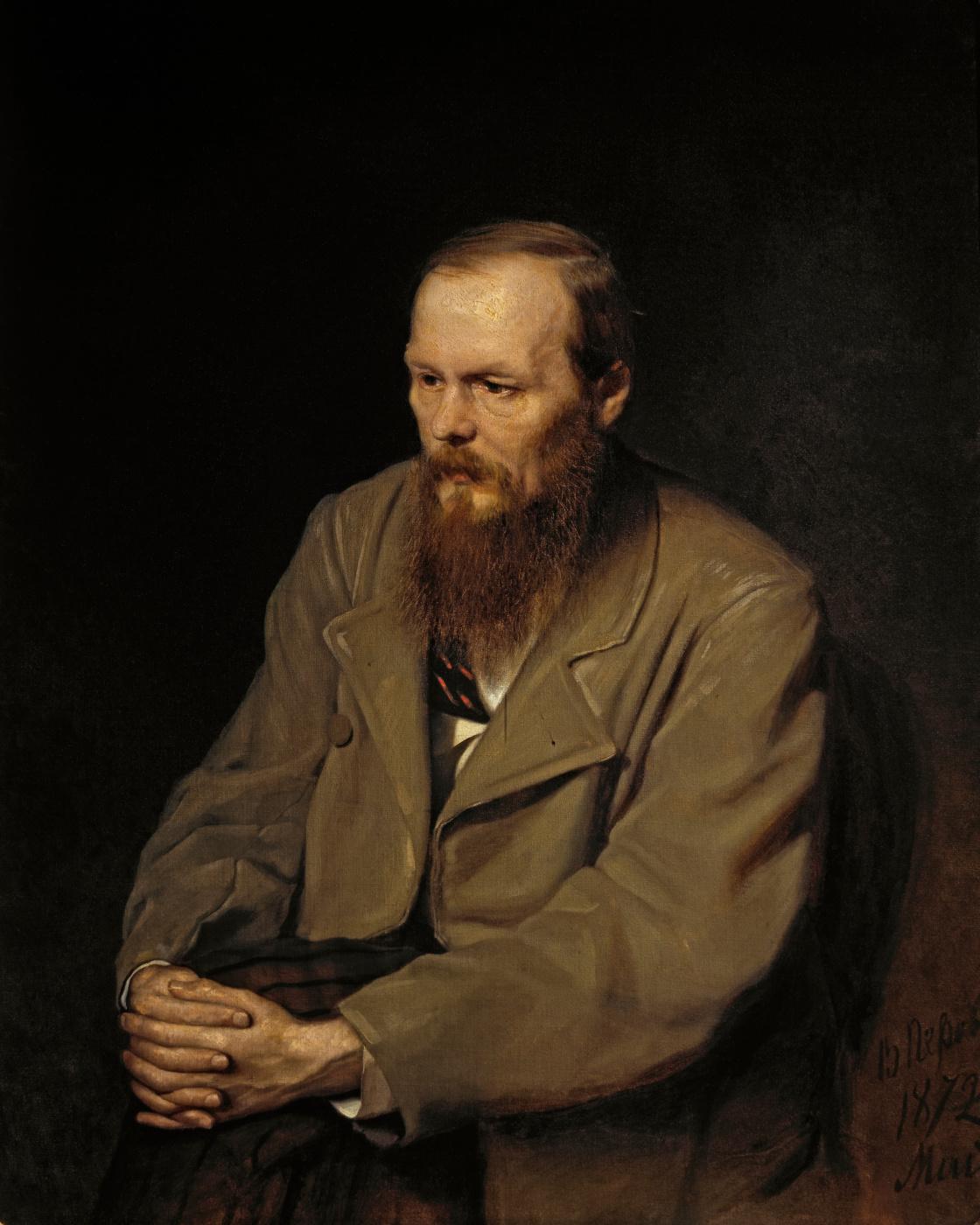 Vasily Grigorievich Perov. Portrait of the writer Fyodor Mikhailovich Dostoevsky