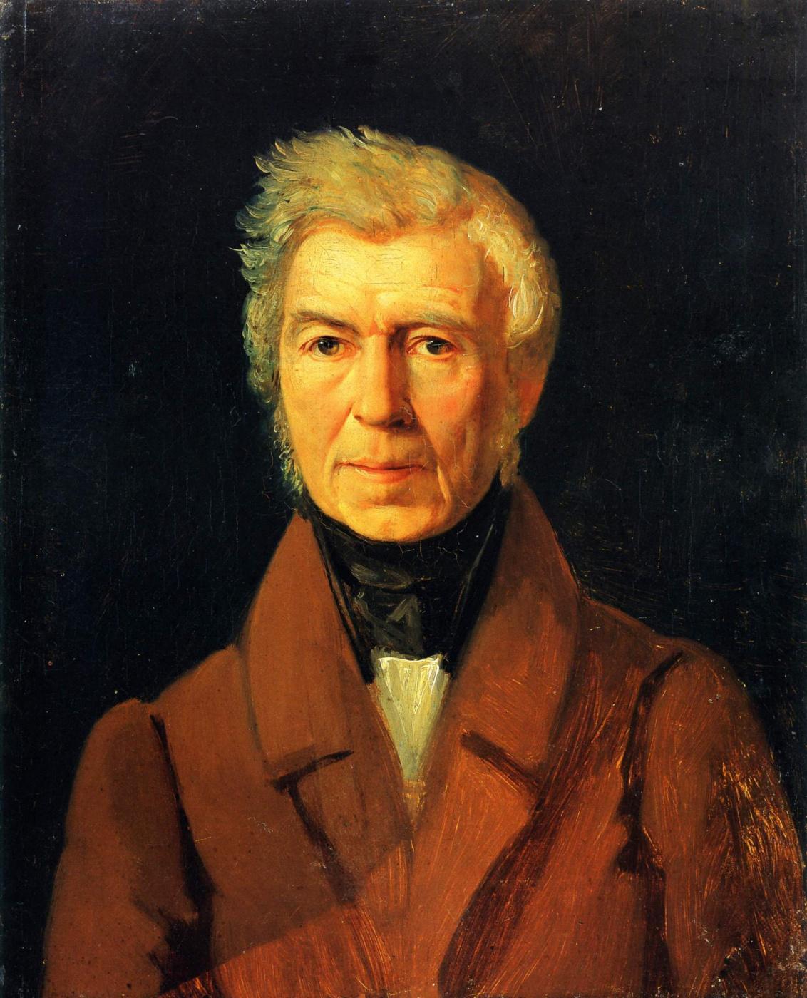 Sergey Konstantinovich Zaryanka. Portrait of artist A.G. Venetsianova