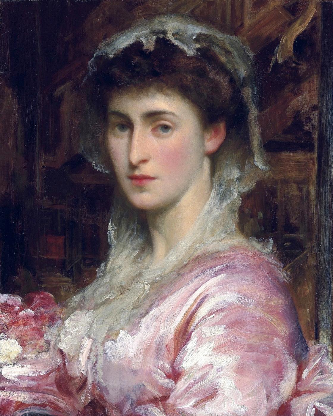 Frederic Leighton. Mrs. Evans Gordon