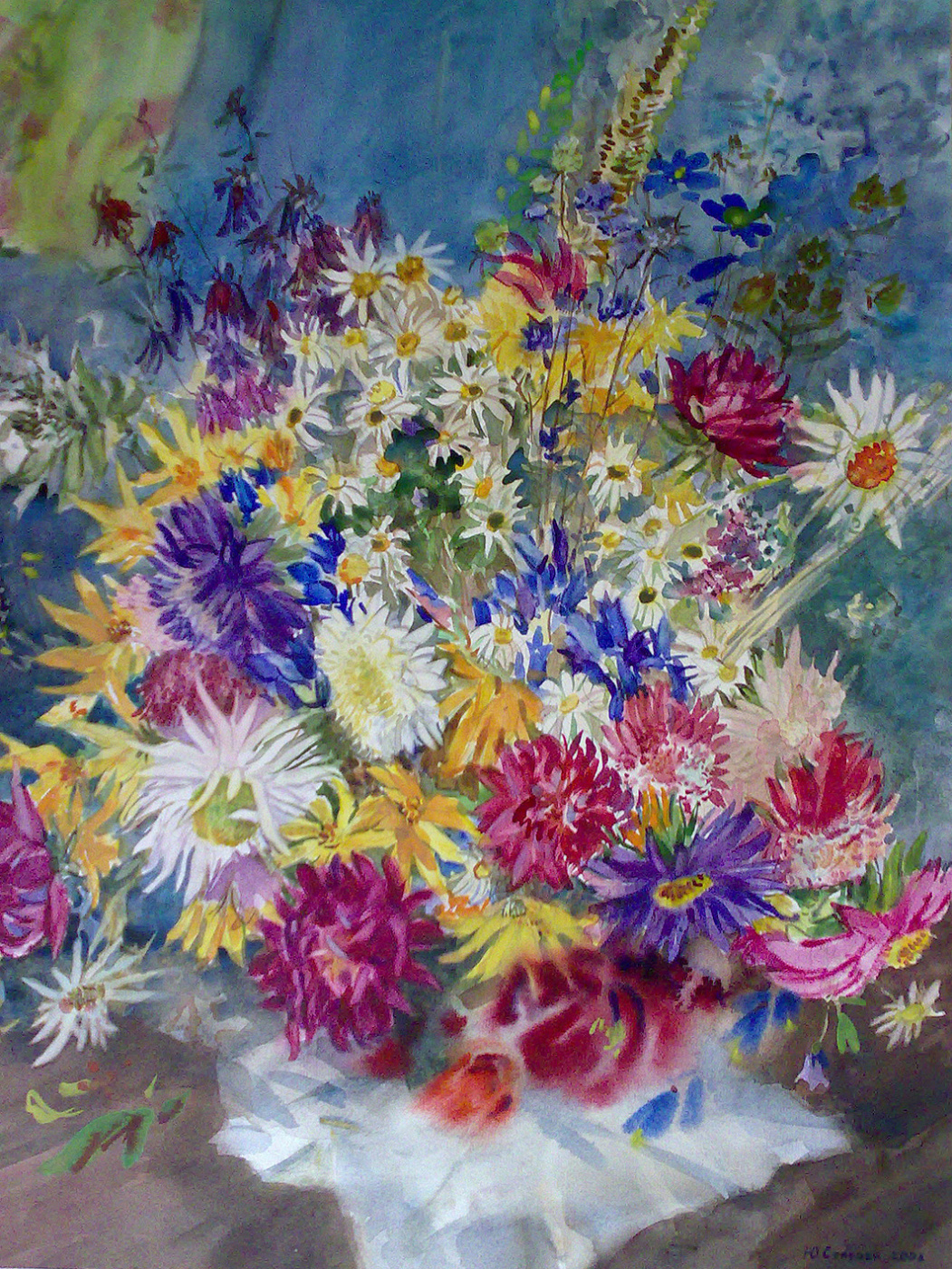 YULIANNA VLADIMIROVNA STAROVA. Bouquet