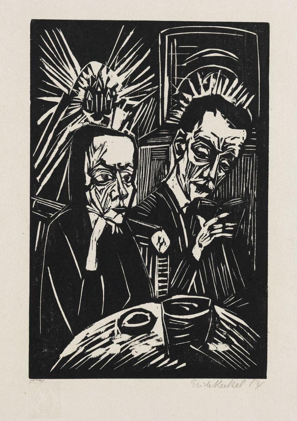 Erich Heckel. Reading