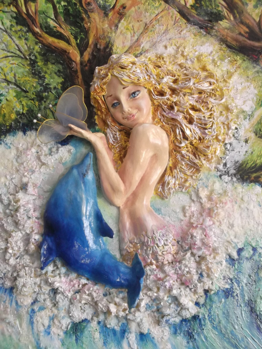 Aurika Kmetiuk. The little mermaid