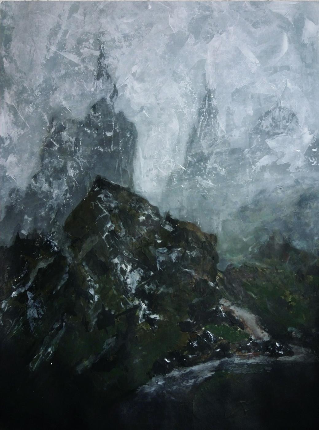 Anastasia. The mountains