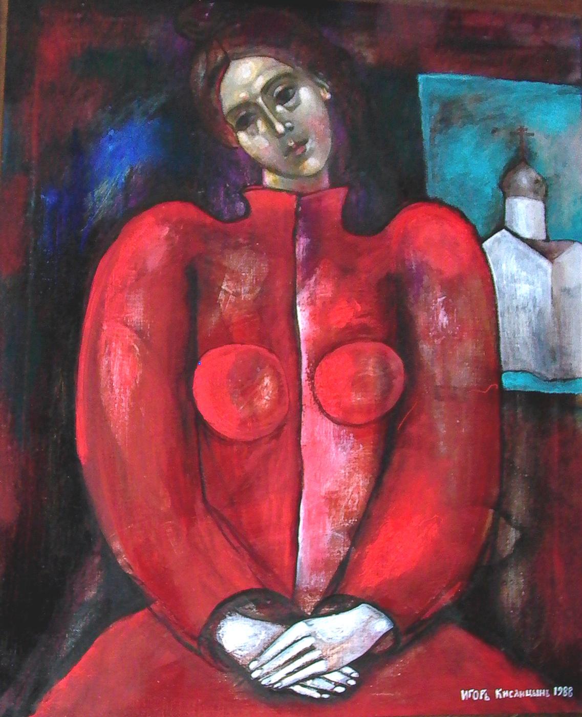 "Igor Vasilyevich Kislitsyn. ""Portrait of a temple"""