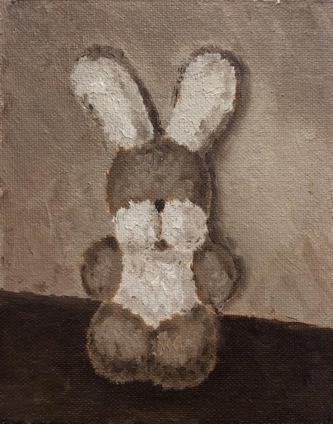 Victor Belov. Plush rabbit