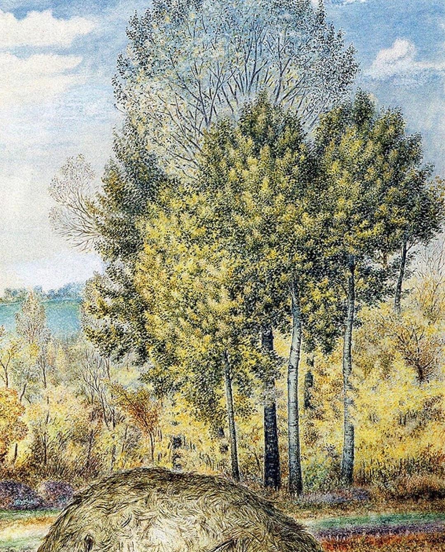 Kateryna Vasylivna Bilokur. Autumn