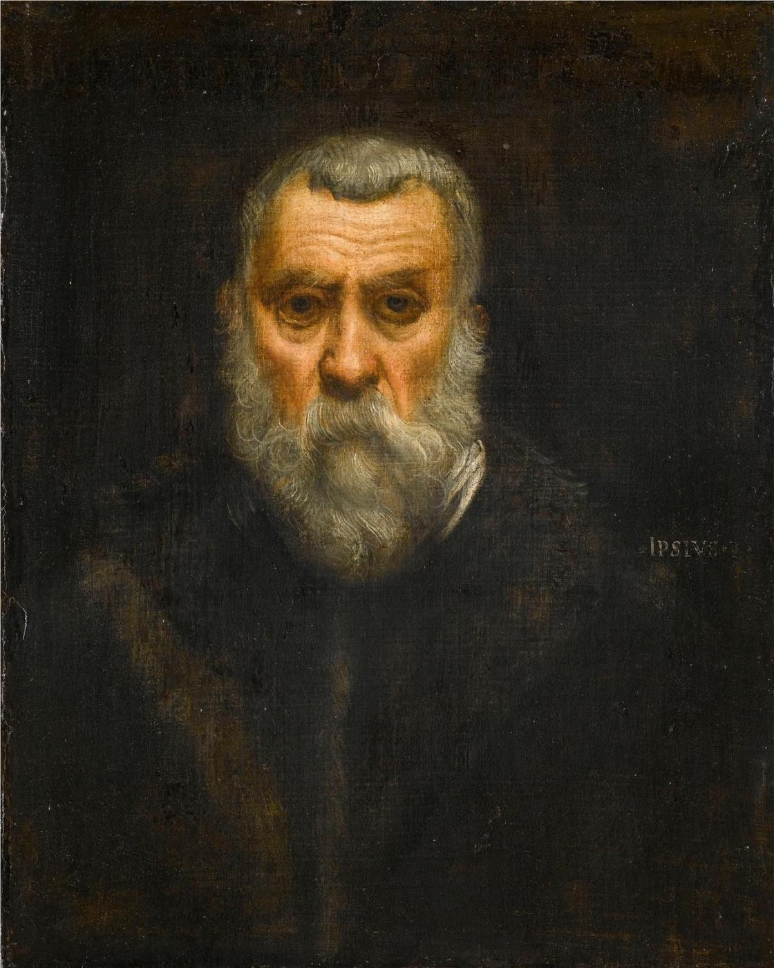 Jacopo (Robusti) Tintoretto. Self-portrait