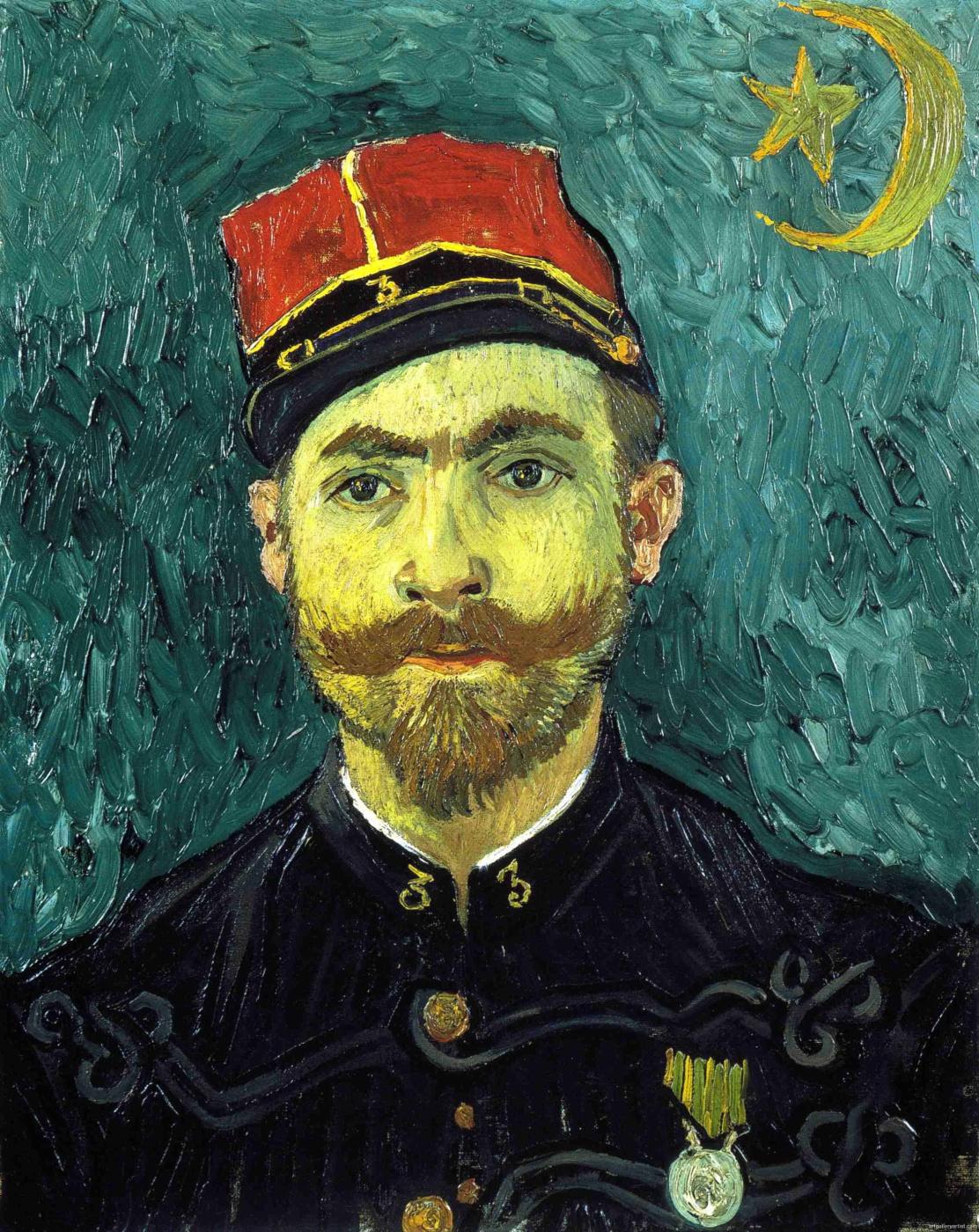 Vincent van Gogh. Portrait Of Paul-Eugène Millet
