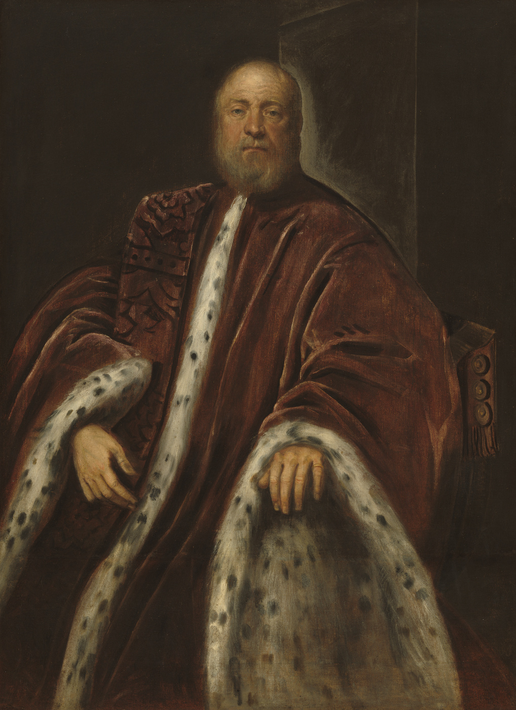 Jacopo (Robusti) Tintoretto. Portrait of the Procurator of San Marco