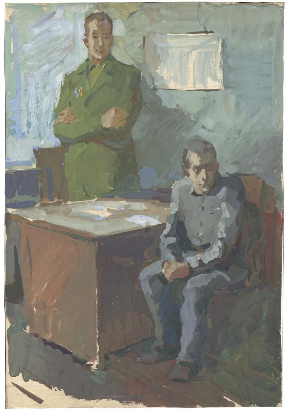 Alexandrovich Rudolf Pavlov. The conversation is zonal. 1974