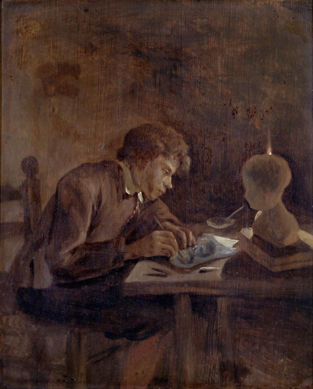 Jan Steen. Young artist