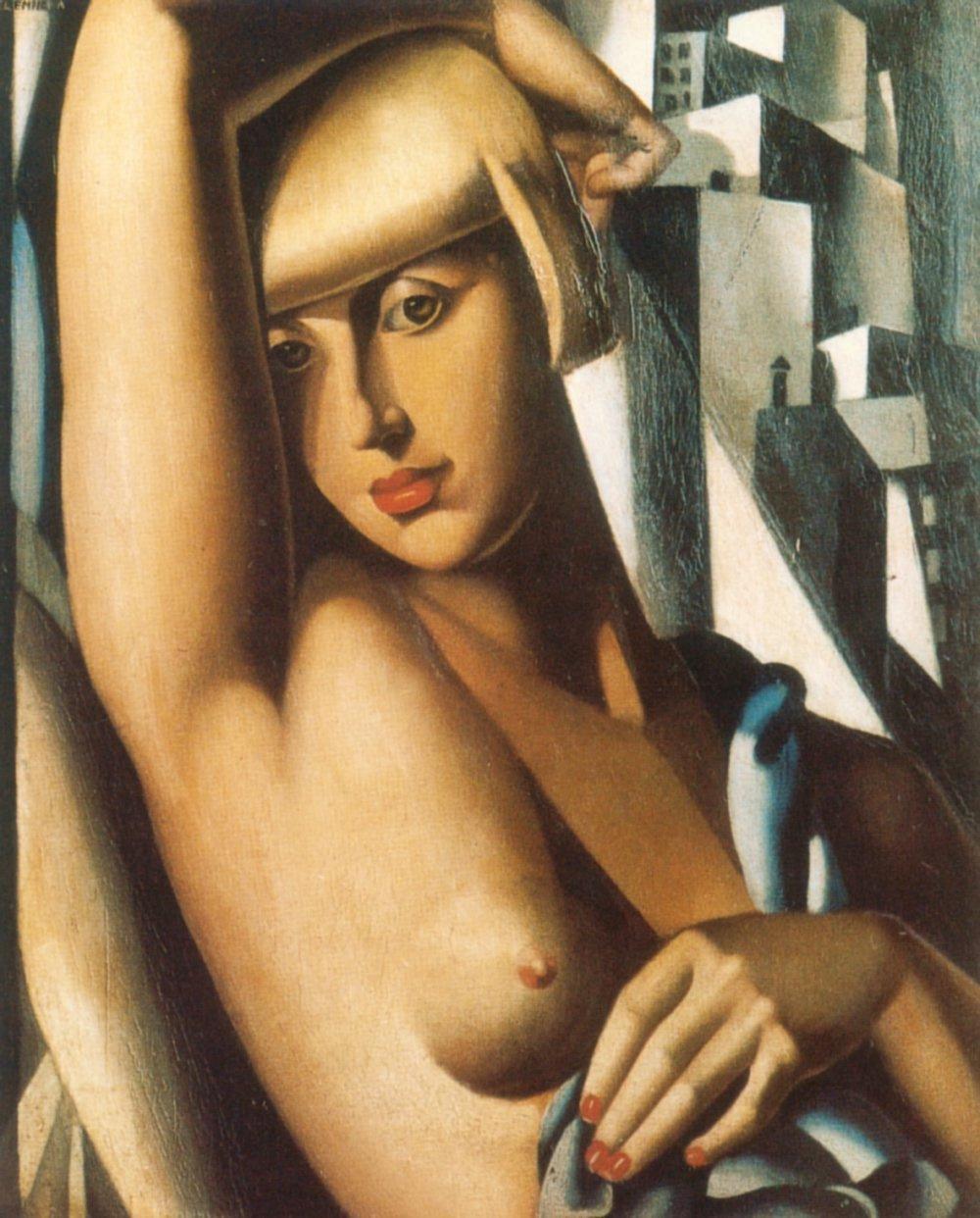 Tamara Lempicka. Portrait Of Suzy Solidor