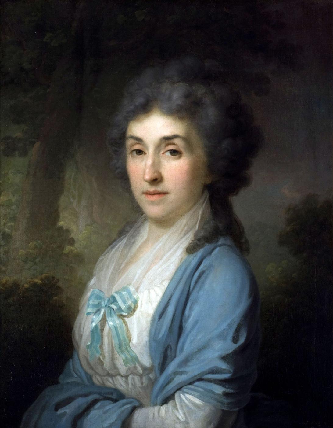 Vladimir Borovikovsky. Portrait of Ekaterina Alexandrovna Novosiltseva