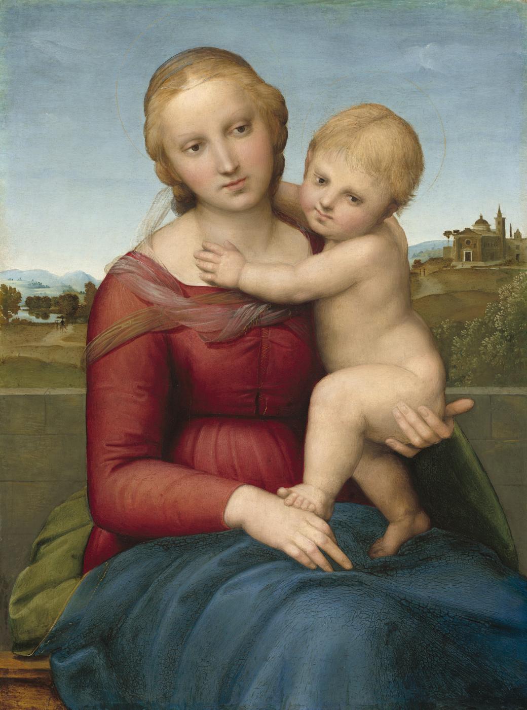 Raphael Sanzio. The Small Cowper Madonna