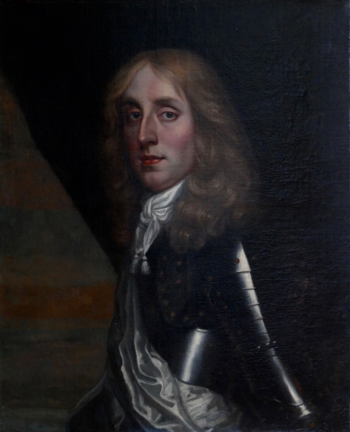 Sir peter leli. Portrait of a man