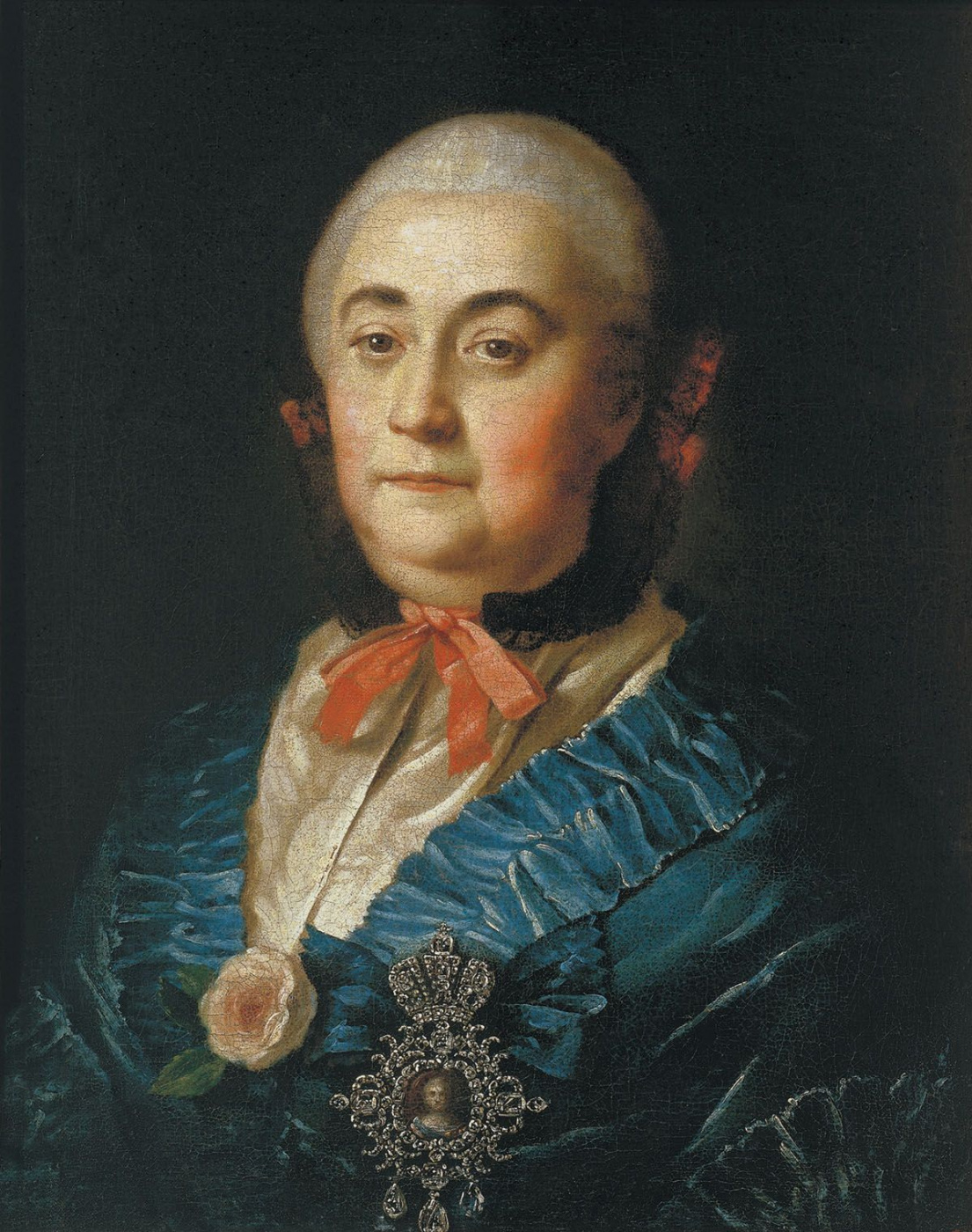 Alexey Antropov. A portrait of the state and the ladies Anastasia Mikhailovna Izmaylova