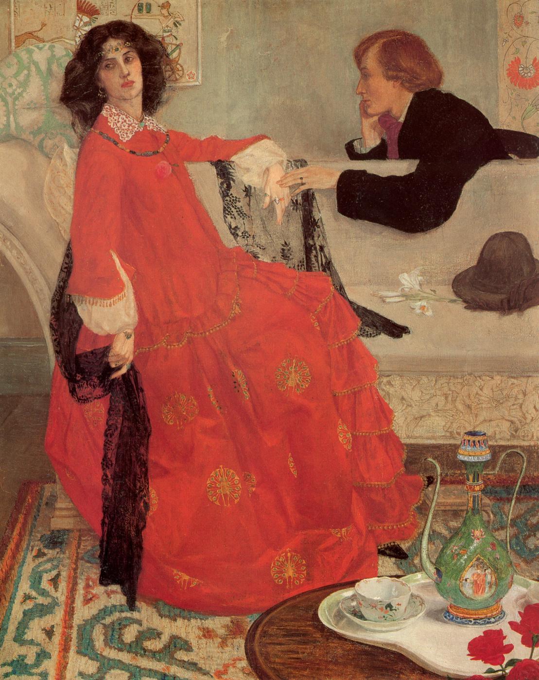 Maxwell Armfield. Faustina