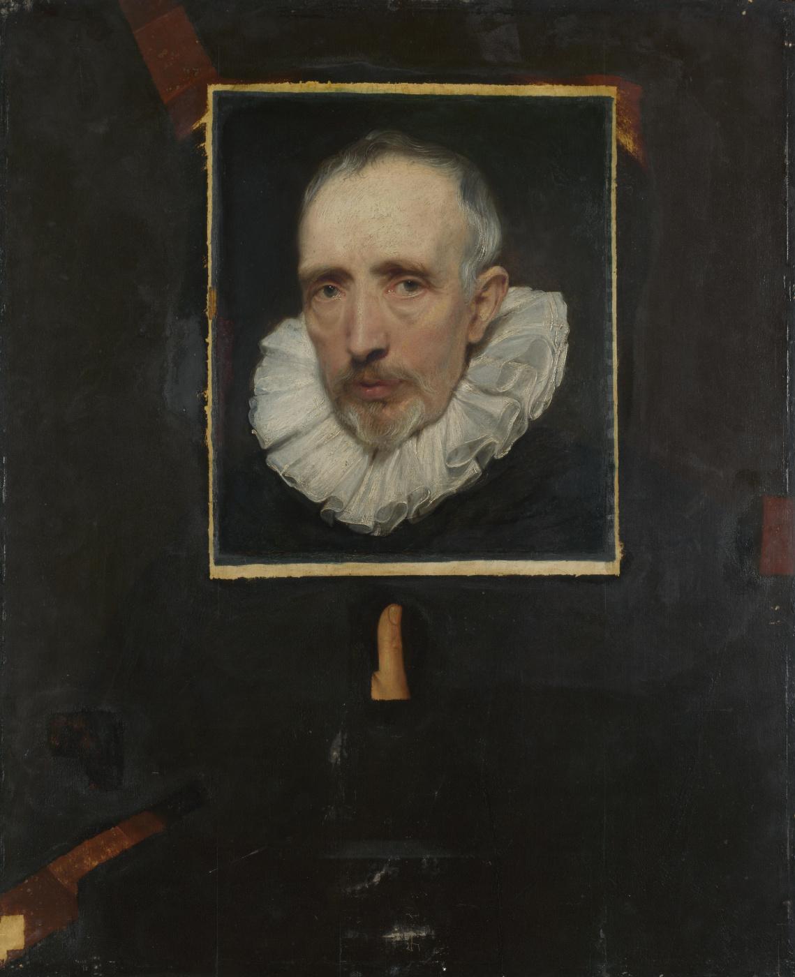Anthony van Dyck. Portrait of Cornelis van der gest