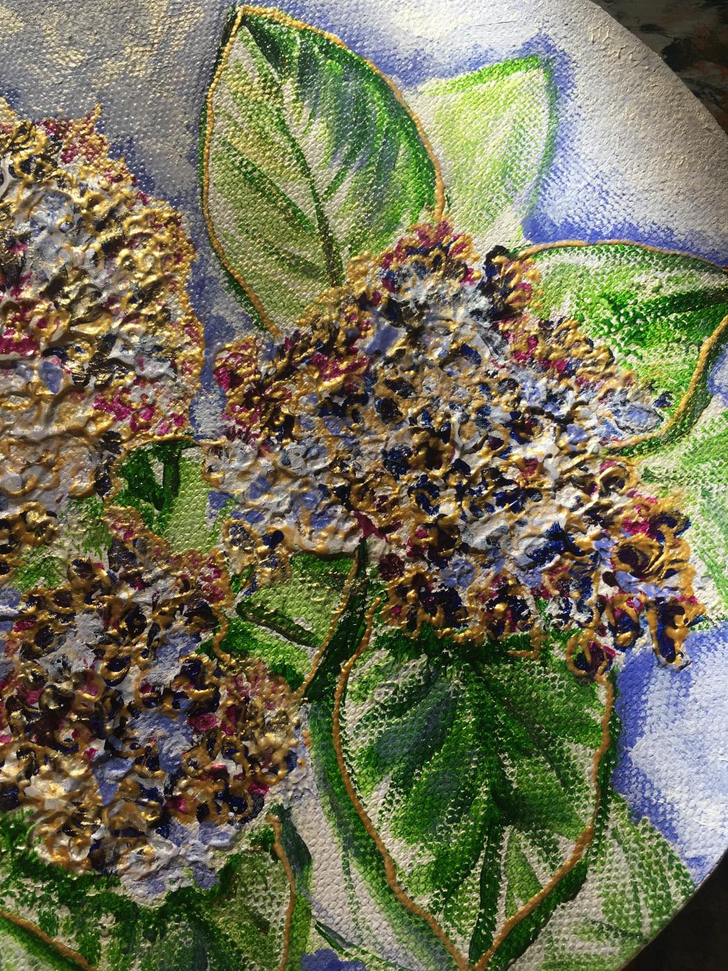 Lilac brush Etude No. 2