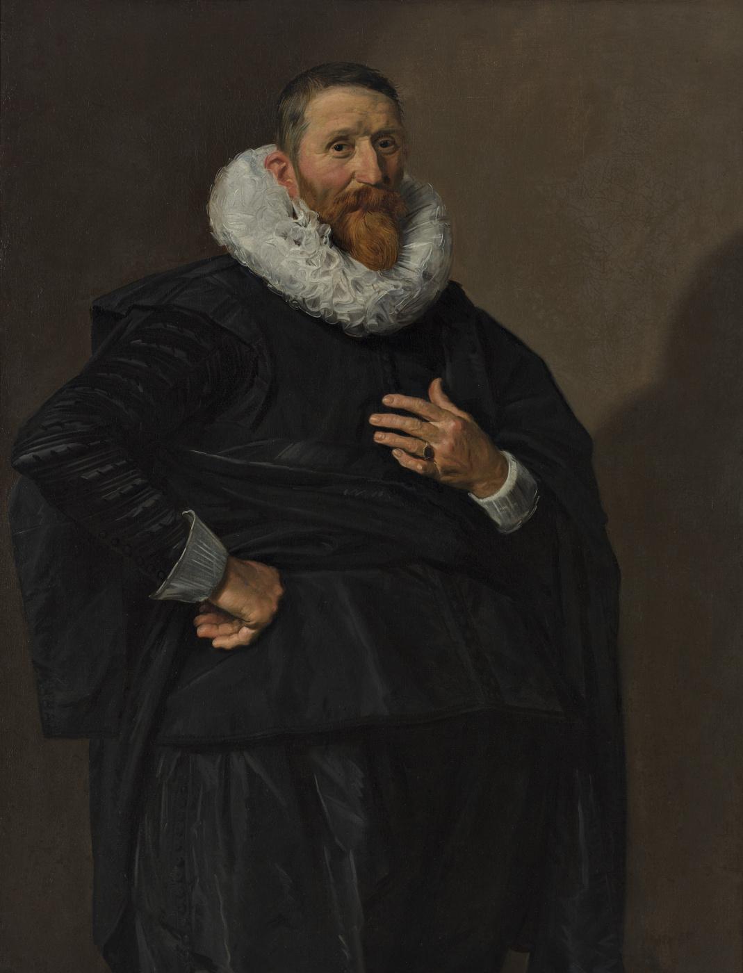 Frans Hals. Portrait of a Man