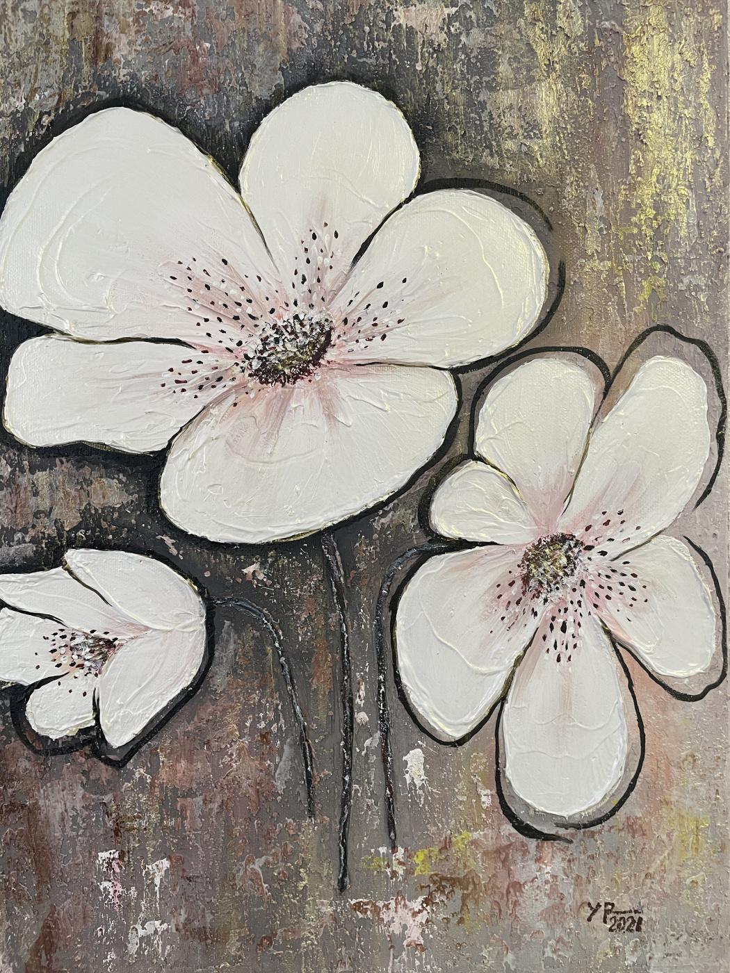 Raisa Alekseevna Ulyanova. Flowers