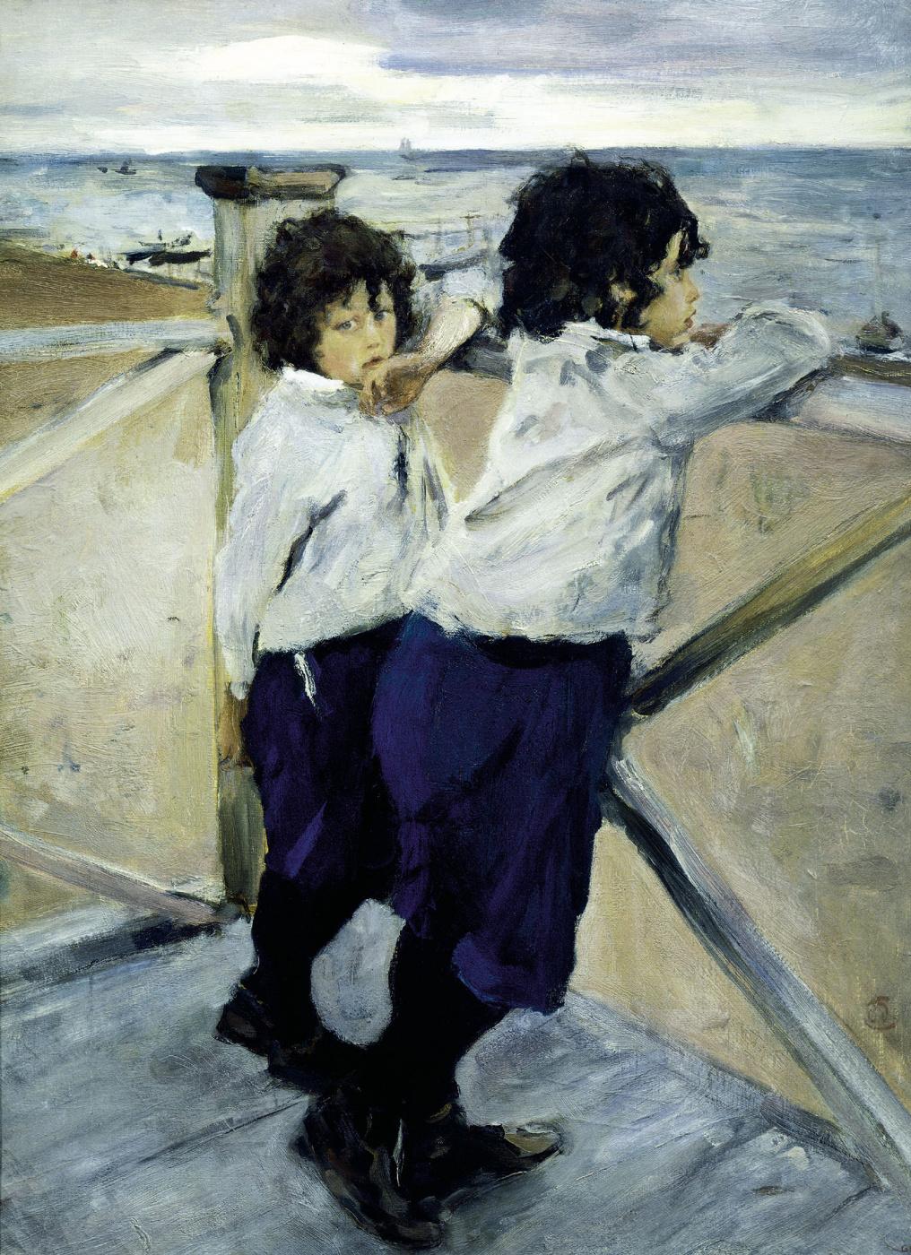 Valentin Aleksandrovich Serov. Children