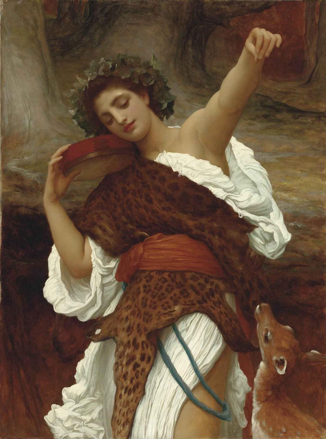 Frederic Leighton. Bacchante