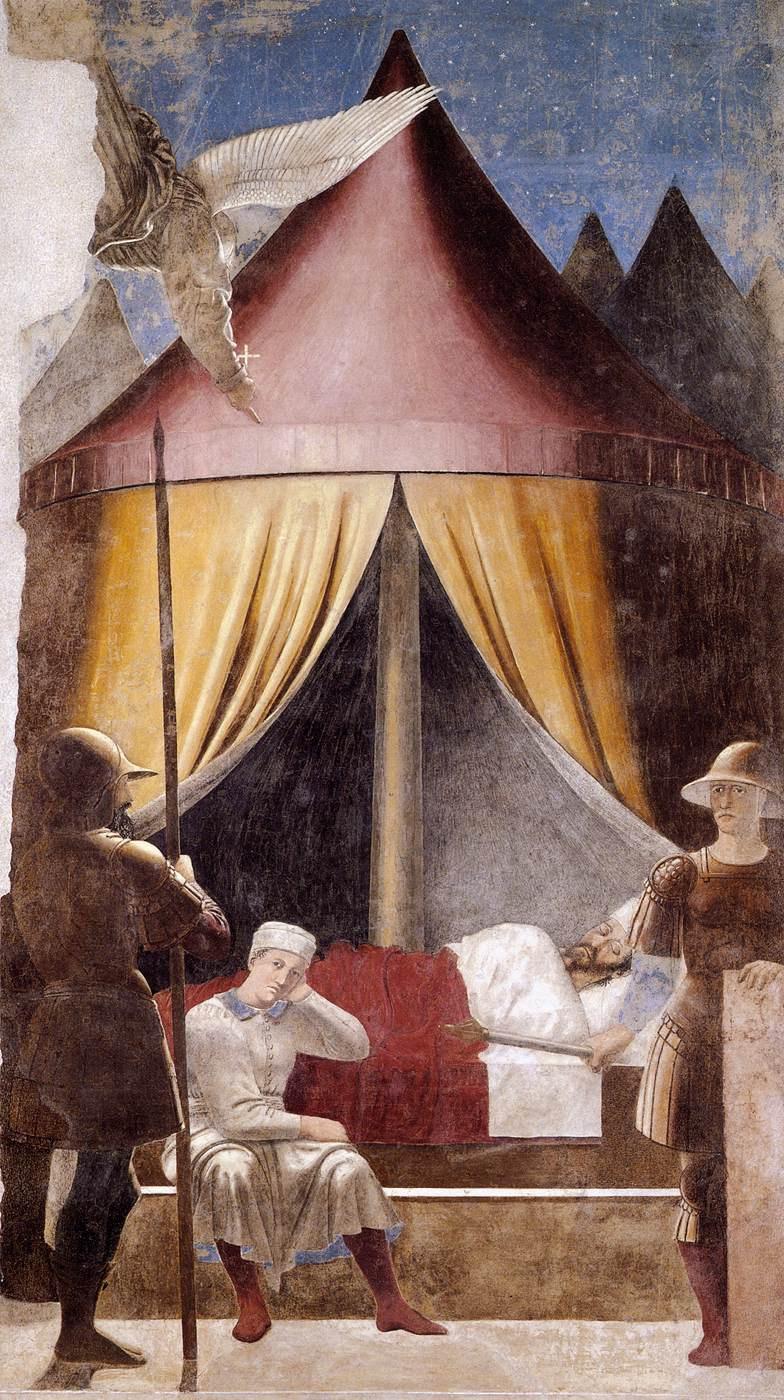 Пьеро делла Франческа. Видение Константина