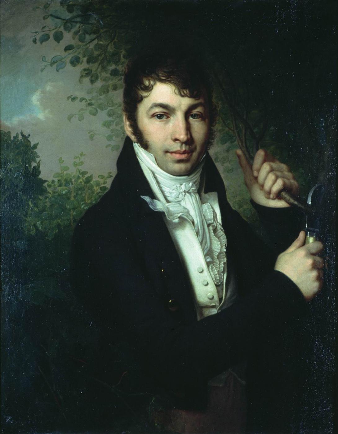 Vladimir Borovikovsky. Portrait of A.P. Dubovitsky