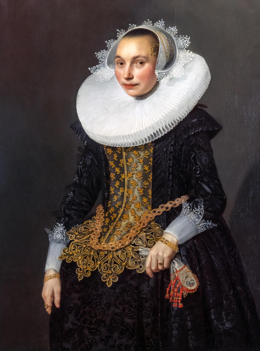 Janson Mihil van Mireveld. Portrait of a young woman