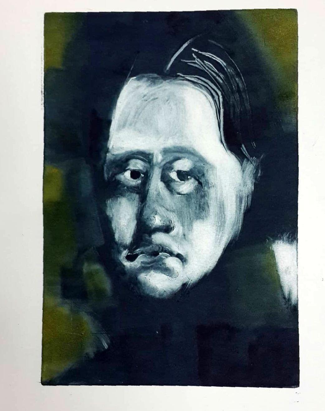 Vlasov Nikolay Vadimovich. Portrait of an unknown