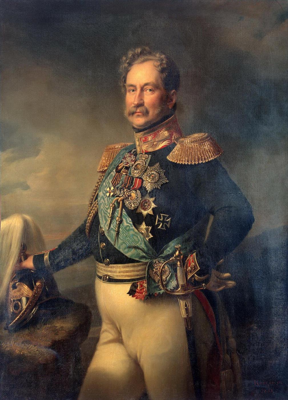 Franz Kruger. Portrait Orlova