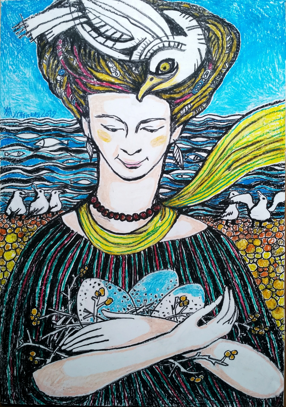 Katya Luganskaya. The birds that live in my head